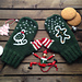 Christmas Stories Mittens pattern