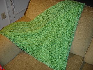 Green Shawl 3