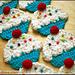 Cupcake Scarf pattern