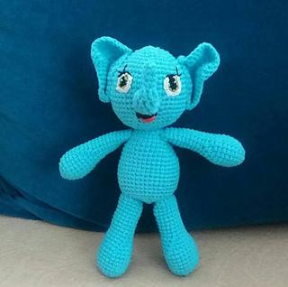 Örgü oyuncak fil / en kolay iki şişle örgü oyuncak / Figen Ararat ... | 318x320