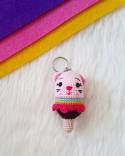 Amigurumi Pembe Kedicik- Amigurumi Pink Cat   320x256