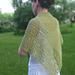 Leaf Garland Shawl pattern