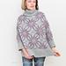 Morning Star Poncho Sweater pattern