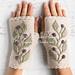 Hedera Wrist Warmers pattern