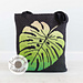 Ombre Monstera Bag pattern