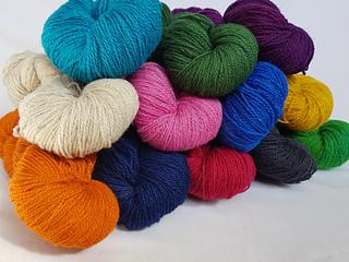 2020 colourways, Cartref Yarn 4ply