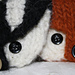 Felted Badger Coin Purse pattern