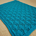 Gothic Leaves Baby Blanket pattern