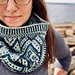 Cascades Cowl - Single Sided pattern