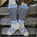 Suomi 100 v sukat pattern