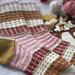 Birthday Cake socks pattern