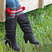 Dylan Leg Warmer Boot Cuffs pattern