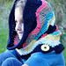 Chevron Hooded Cowl pattern