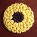 Sunflower Coasters pattern