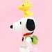 Snoopy and Woodstock pattern