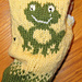 Frog Keep on Textin' Gloves and Mittens pattern