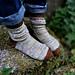Rosette Socks pattern