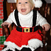 Missy Claus Skirt & Headband 12-122A pattern