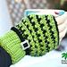 X Stitch Fingerless Gloves 15-167 pattern
