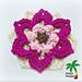 Fancy Flower Applique 15-183 pattern