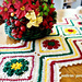 Joyful Flowers Table Runner pattern