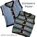 Uptown Vest  16-224 pattern