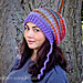 Waves of Warmth Slouch Hat pattern