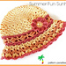 Summer Fun Sunhat 14-142 pattern