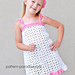 Summer Cheer Dress and Kerchief Set pattern