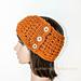 Ridgy Headband Ear Warmer pattern