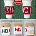 Holiday Graphic Cup Cozy pattern