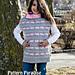 Sweetheart Poncho Sweater pattern