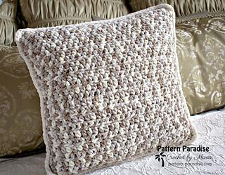 Ravelry Basic Throw Pillow Pattern By Maria Bittner
