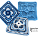 Copenhagen Crochet Square pattern