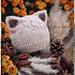 Soft Kitty cat ears hat (шапка котенок) pattern
