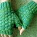 Woven Fingerless Gloves pattern