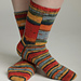 Bargello Basics Socks 2 pattern