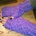 Honeycomb Fingerless Mittens pattern