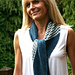 Collinear scarf pattern
