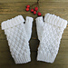 Quilted Fingerless Gloves pattern