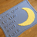 Moon and Back Baby Blanket pattern