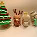Christmas Snowman, Reindeer, Angel and Tree pattern