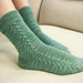 White Sandy Beach Socks pattern