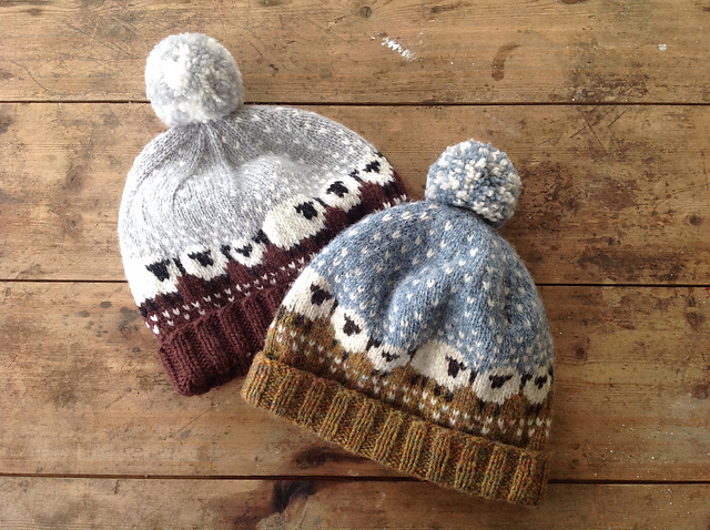 Baa-ble Hat pattern by Donna Smith