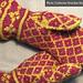 Colorwork Gauntlet Mittens pattern