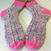 Confetti & Cables Socks pattern