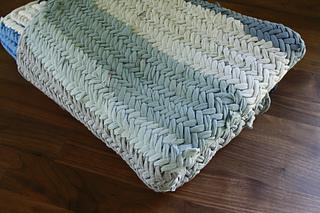 Herringbone Tshirt Rug pattern by