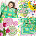 The Petal Patch Blanket and Bunting pattern