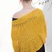 Sunshine shawl pattern