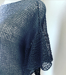 Knitted with Yarnz2go's Linen yarn